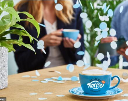 Nationale Koffiedag: jaarlijkse inhaker met effect
