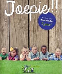 Joepie!! jubileummagazine kinderopvang