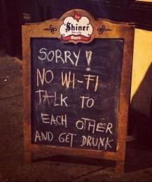 Gezellig op wifi-vakantie
