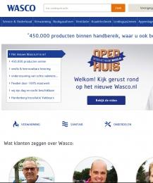 Intelligente webshop voor Wasco