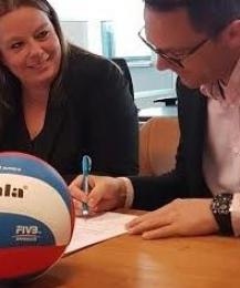 PDR sponsort Vallei Volleybal Prins