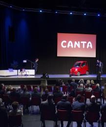 PR voor de Canta!