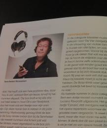Bert Haandrikman test hoofdtelefoons